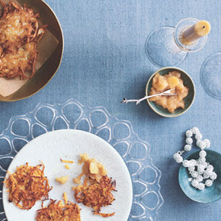 Baked Sweet Potato Latkes