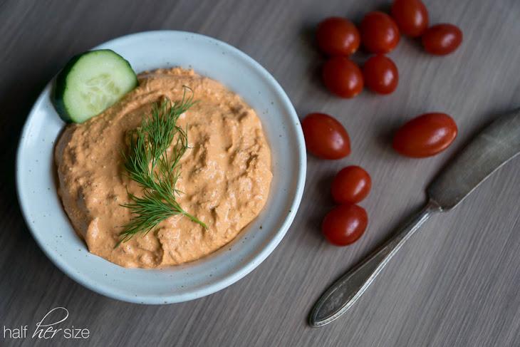 Roasted Red Pepper & Feta Dip Recipe