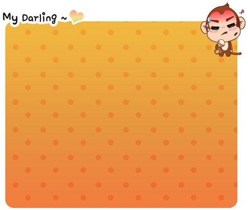 MyDarling Monkey theme