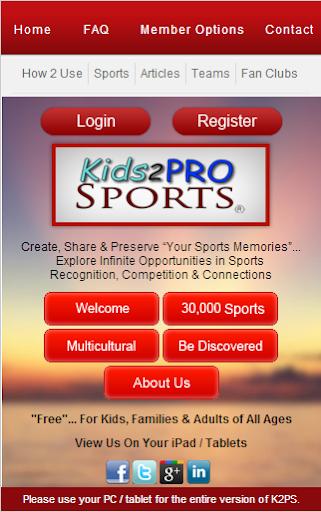 Kids2ProSports