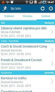 Ski Info CZ/SK - screenshot thumbnail
