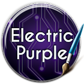 Electric Purple Keyboard