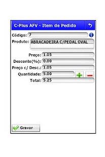 C-Plus AFV - Força de Vendas- screenshot thumbnail