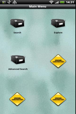 Freebase Explorer - screenshot