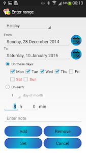 Time Manager Free screenshot 3