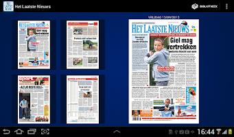 Screenshot of Het Laatste Nieuws