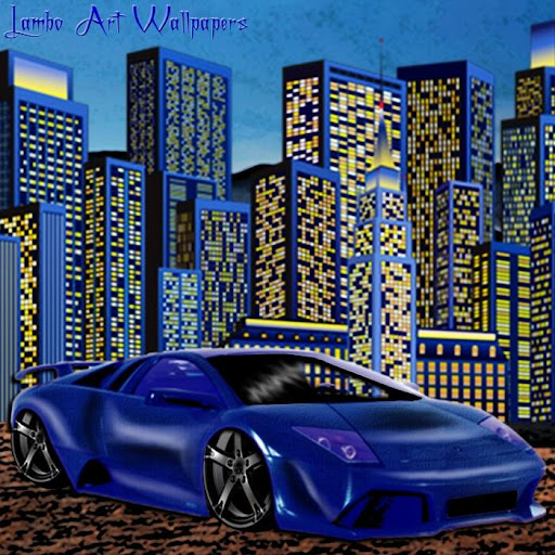 Lambo Art Wallpapers Volume 1
