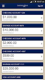 CBT Mobile Banking Screenshot 1