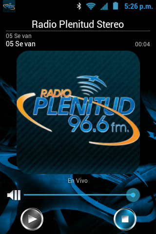 Radio Plenitud Stereo 96.6 FM - screenshot