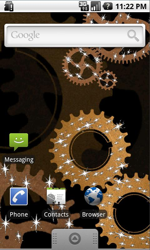 Steampunk Gears Live Wallpaper- screenshot