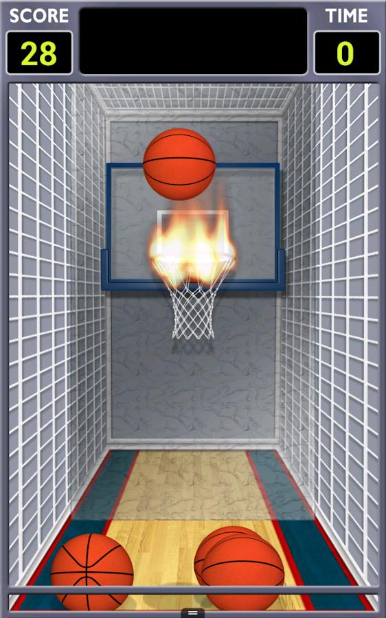 Mini Shot Basketball - screenshot