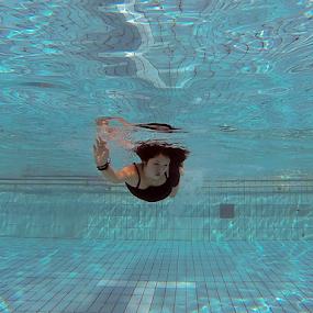 lonely by Dodi Yoga - People Portraits of Women ( underwater, gopro, deemozart )
