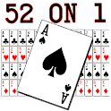 52 on 1 Card Trick Premium icon