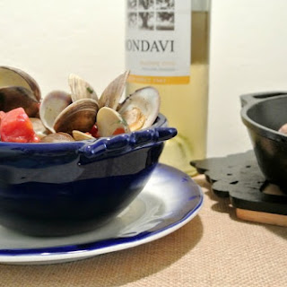 Grilled Clams with Lemon Basil Compound Butter
