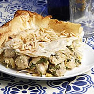 Chicken & Filo Pie (Bstilla)