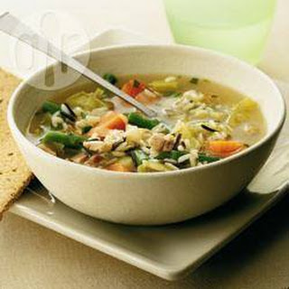 Rabbit Soup With Herb Oatcakes
