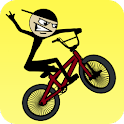 Stickman BMX Pro Game for Galaxy Y & All Low End Android Devices { GamePlay Video }
