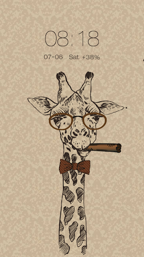 Giraffe Live Locker Theme