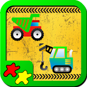 Kids Puzzles: Construction