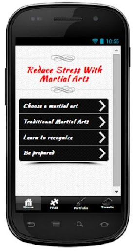 Reduce Stress by Martial Arts