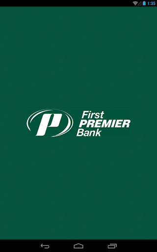 First Premier Bank for Tablet