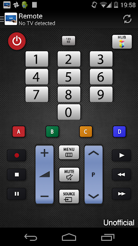 android Télécommande pour TV Samsung Screenshot 5