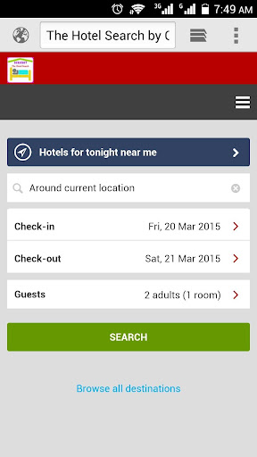 Ochobot HotelSearchReservation