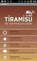 Screenshot of Tiramisu