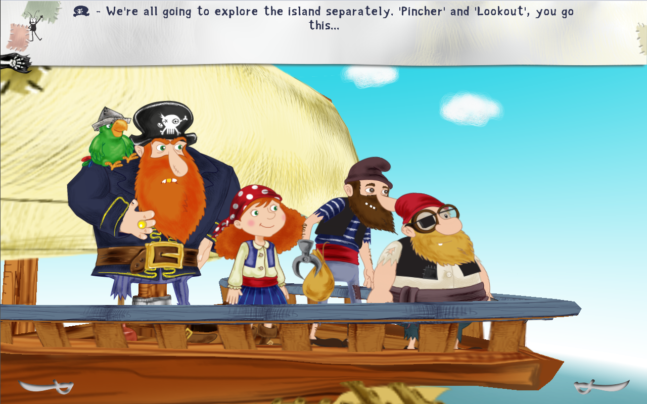 Alizay, pirate girl- screenshot