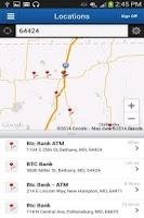 Screenshot of BTC Bank Mobile