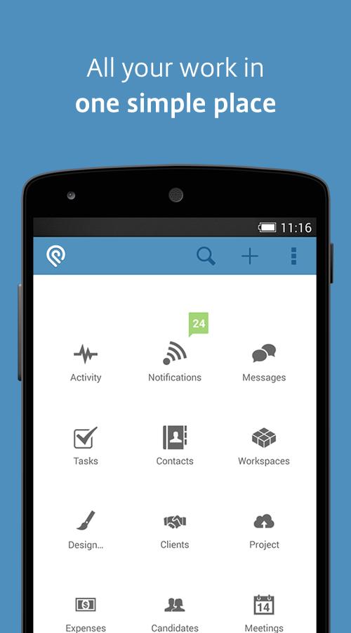 Podio - screenshot