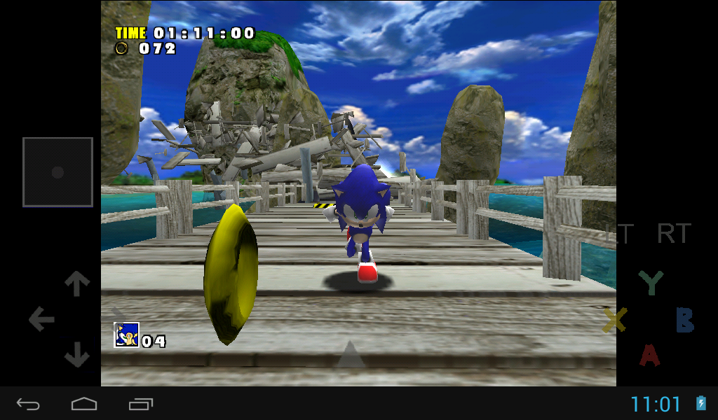 Reicast - Dreamcast emulator - screenshot