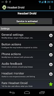 Headset Droid- screenshot thumbnail