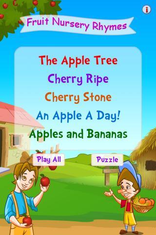 Fruit Nursery Rhymes