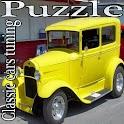 Puzzle Classic cars tuning logo