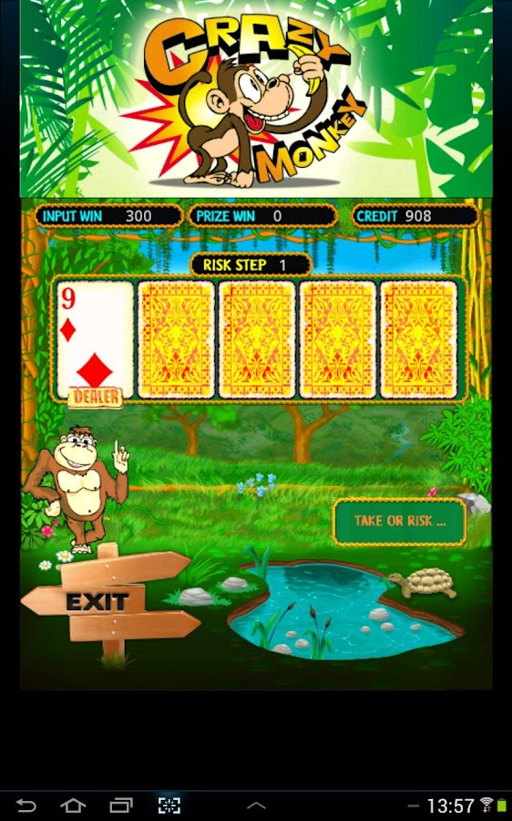 Crazy monkey slot - screenshot