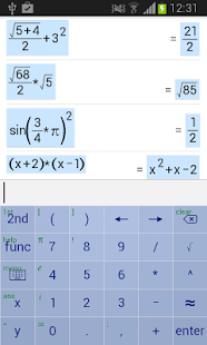 Symbolic Calculator- screenshot thumbnail