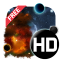 UR 3D Galaxy Live Wallpaper icon