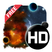 UR 3D Galaxy Live Wallpaper