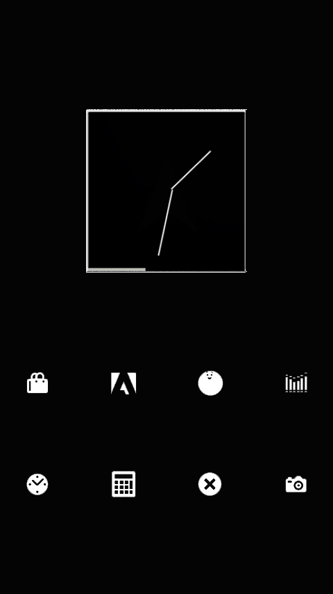 SMPL White Theme Go/Nova/Apex - screenshot