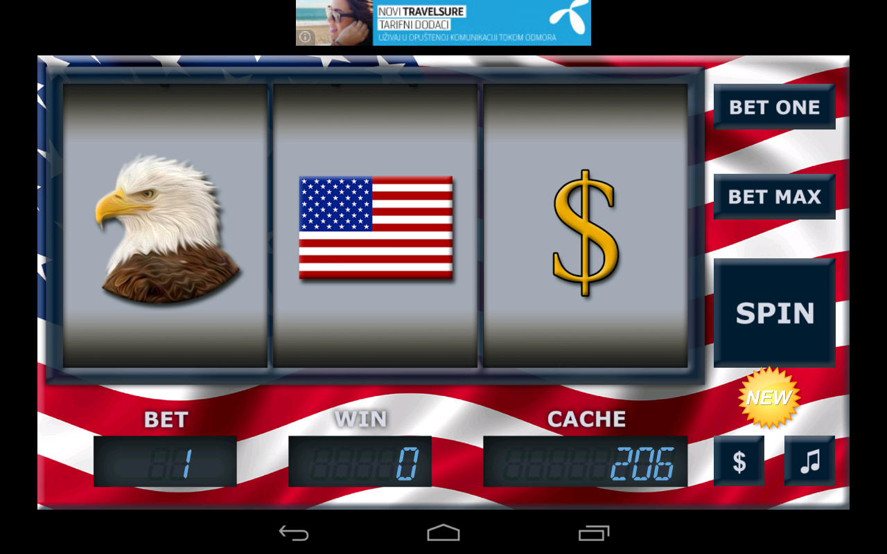 Usa Slot HD - screenshot