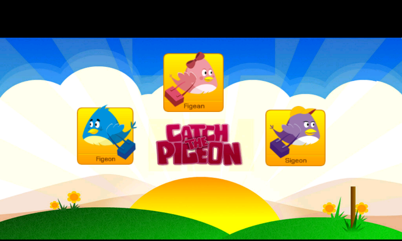 Catch the Pigeon- screenshot