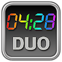 Rainbow Clock Widget (DUO)