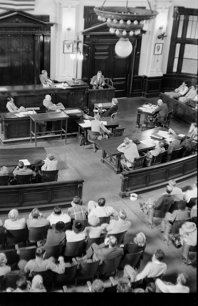 Lake Charles Newspaperman's Trial