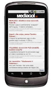 Mediagol Palermo News - screenshot thumbnail