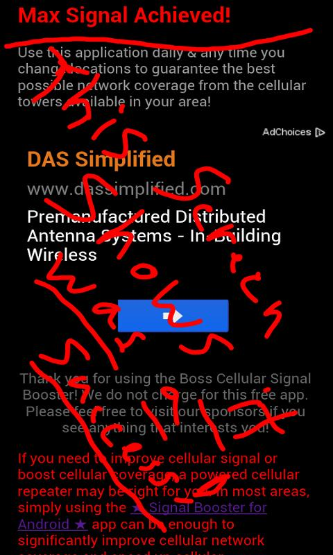 ★ Signal Booster for Android ★ - screenshot