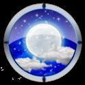 """""""夜空宁静""""畅游桌面主题 icon"""