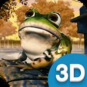 3D Frog Live Wallpaper