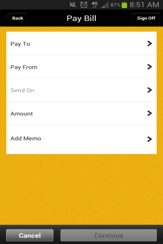 Icon Bank Mobile Banking - screenshot