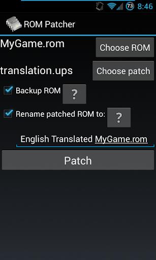 ROM Patcher